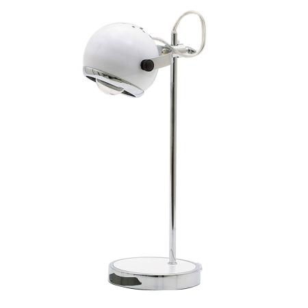 Retro lampe - hvid