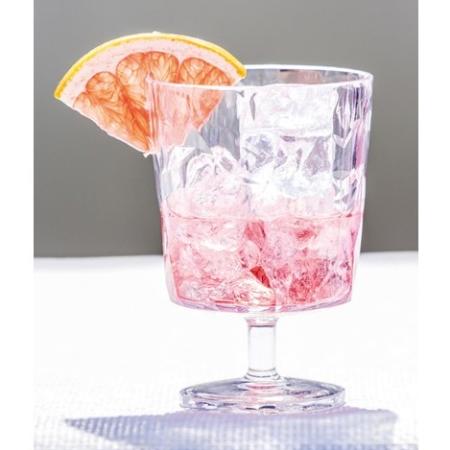 Klart vinglas i plast - Koziol