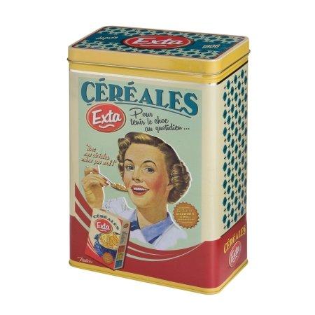 Retro dåse til morgenmad - Exta