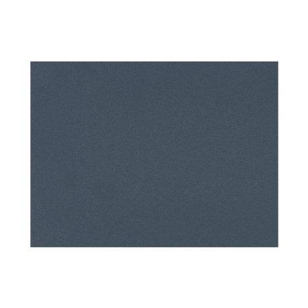 Dækkeserviet linoleum - mørk blå
