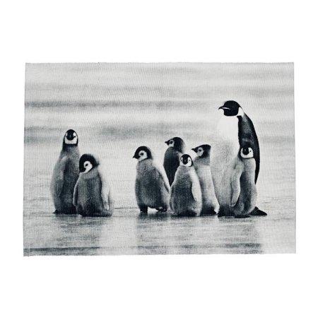 Dækkeserviet med pingviner