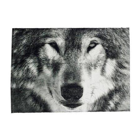 Dækkeserviet med ulv