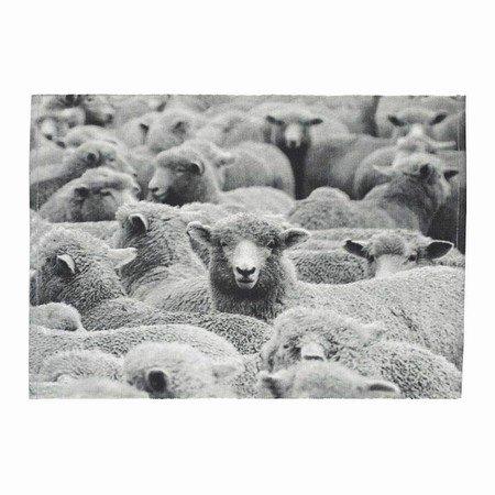 Dækkeserviet med får