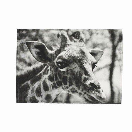 Dækkeserviet med giraf