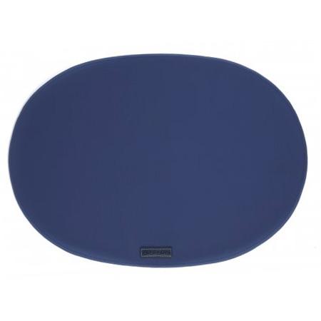 Dækkeservietter marineblå - 4 stk.