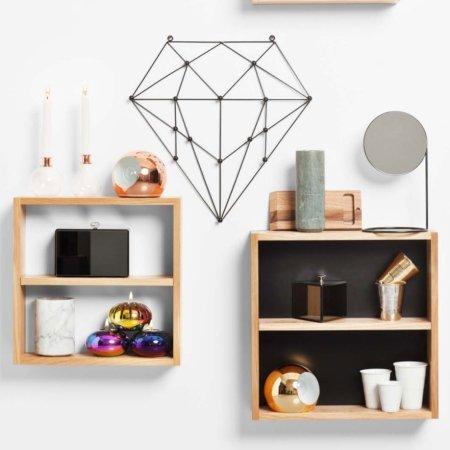 Diamond knagerække til væg