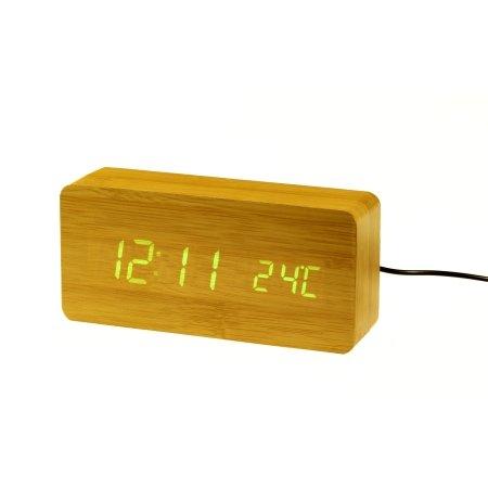 Digital vækkeur - grønne tal