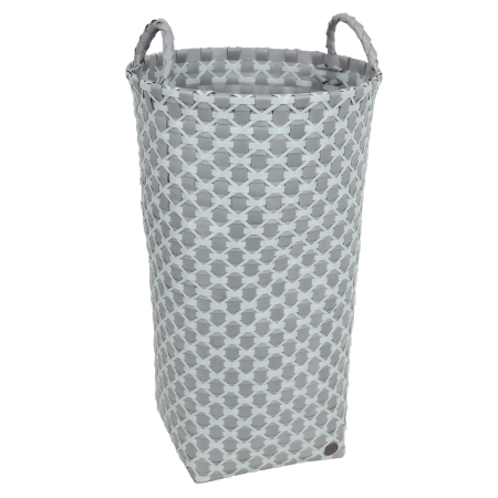 Dijon vasketøjskurv - grå/grøn