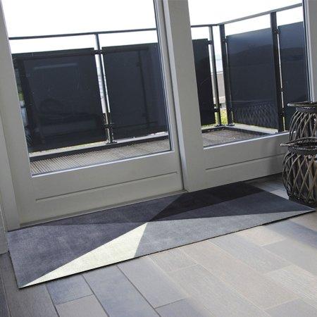 Dørmåtte Art Grey 85x120 cm