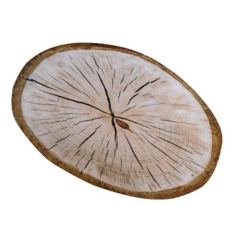 Dørmåtte træstamme - wood