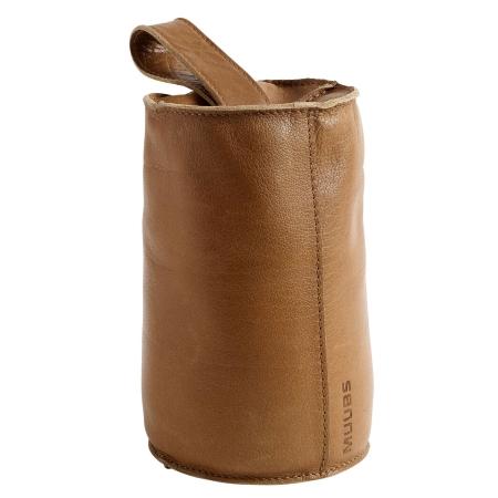 Dørstopper Camou brun læder