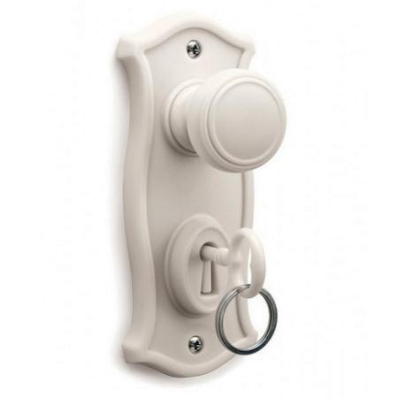 Doorman nøgleholder - hvid