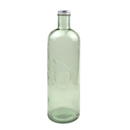 Vandflaske - grøn