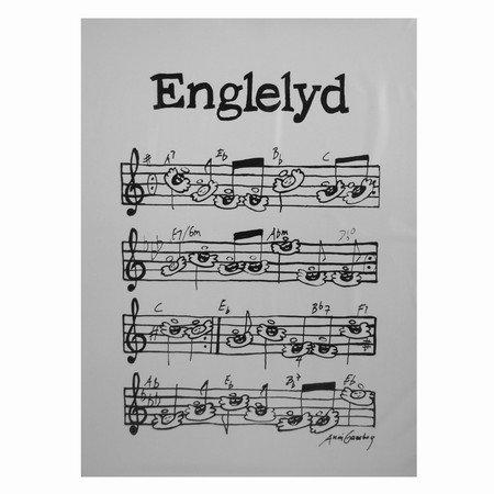 Englelyd plakat