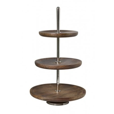 Etagere opsats med 3 fade