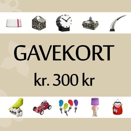 Gavekort 300 kr.