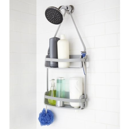 Flex shower caddy - grå