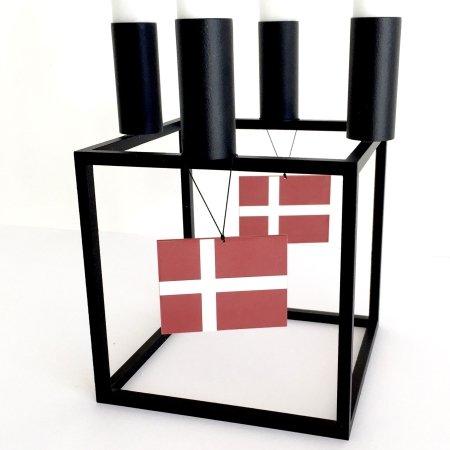 Fødselsdags flag med ophæng - 2 stk.