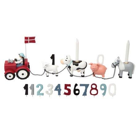 Fødselsdagstog bondegårdstog - Kids By Friis