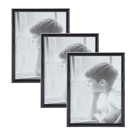 Sorte fotorammer i 18x24 (3 stk.)