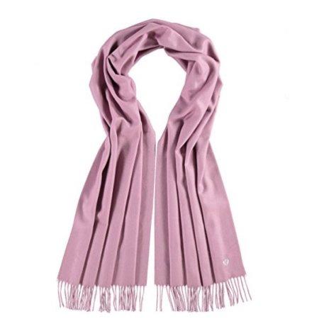 Rosa tørklæde