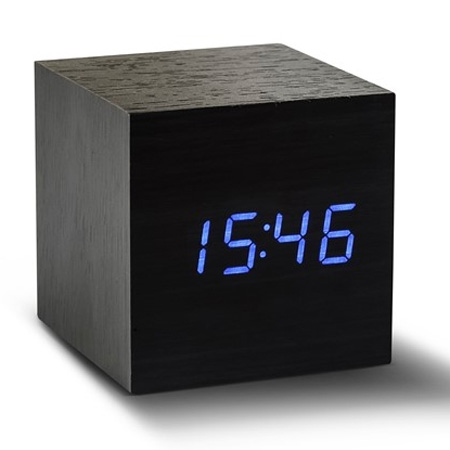 Vækkeur - Maxi Cube Click Clock sort