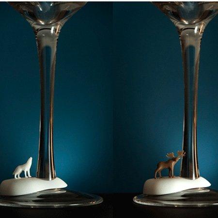 Glas markør - kolde dyr
