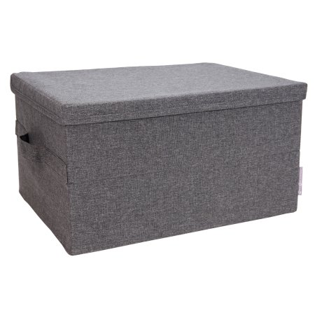 Grå opbevaringskasse - large