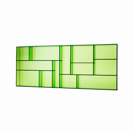 Sættekasse - grøn akryl