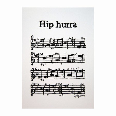 Kort - Hip-Hip-Hurra
