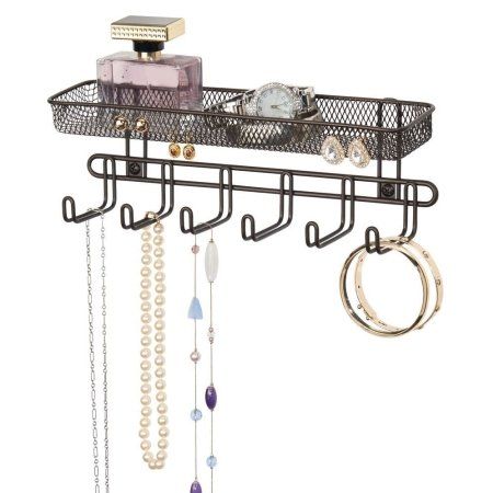 Smykkeholder til væg - bronze