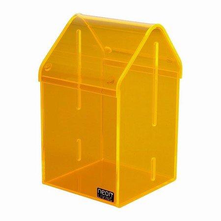 Orange akryl boks