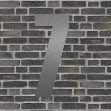 Sølv husnummer 40 cm - 7