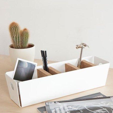 Shuffle box - hvid