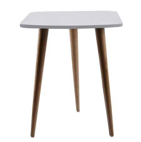 Hvidt bord - firkantet