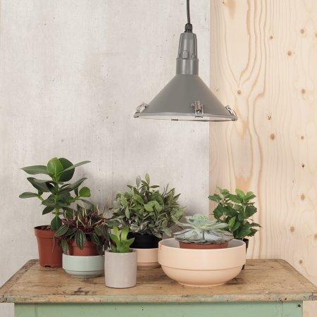 Inside Out loft lampe - grå