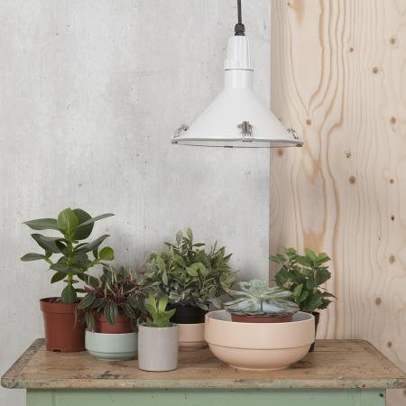 Inside Out loft lampe - hvid