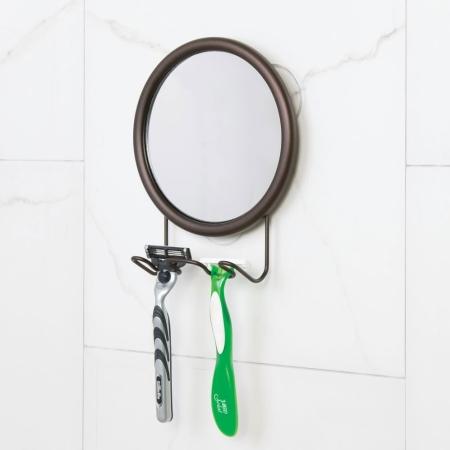 Spejl med sugekop