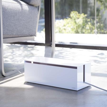 Kabelbox i hvid