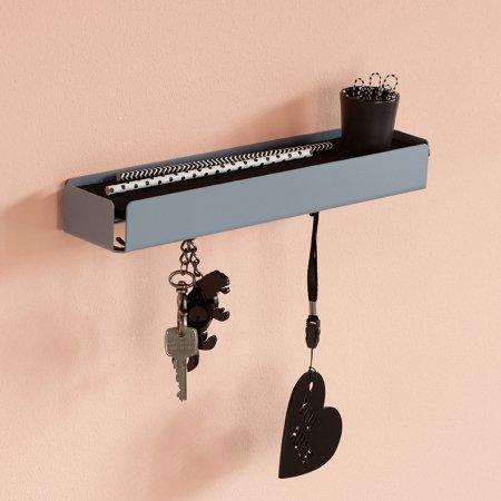 Key Box nøgleholder i metal - grå