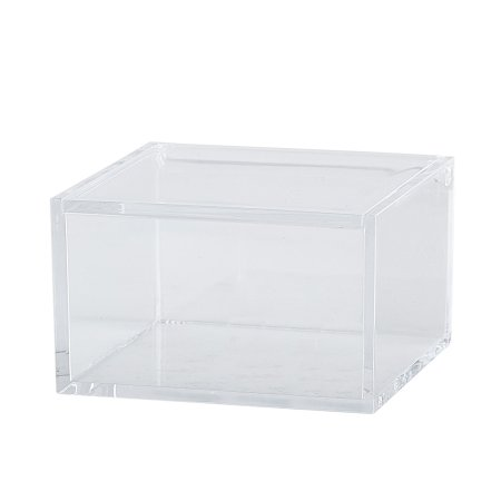 Opbevarings boks - klar akryl