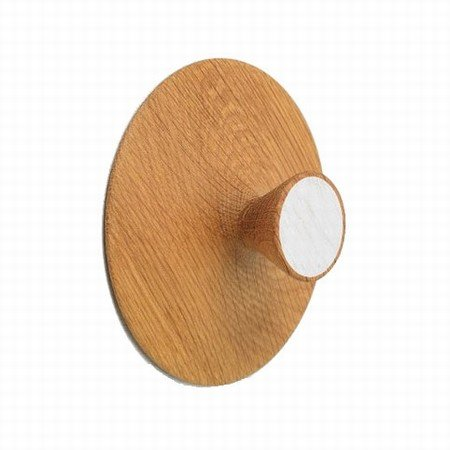 Nipple knage medium - hvid