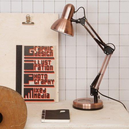 Hobby bord lampe - kobber