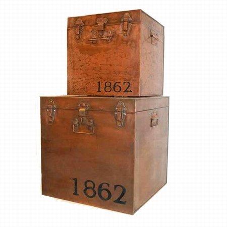 Store kasser i kobber