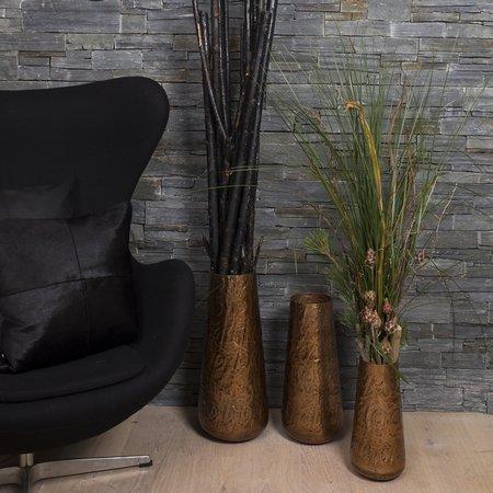 Kobber vase - 43 cm