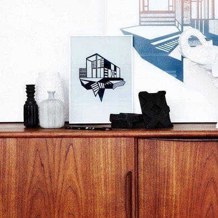 Kristina Dam - Simpel House sort/grå