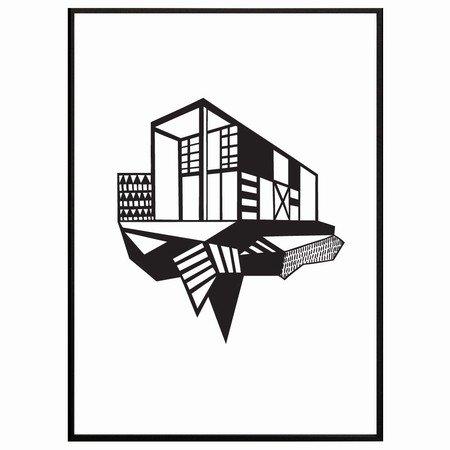 Kristina Dam - Simpel House sort/hvid