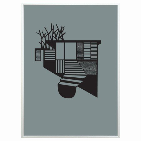Kristina Dam - Tree House sort/gr�n