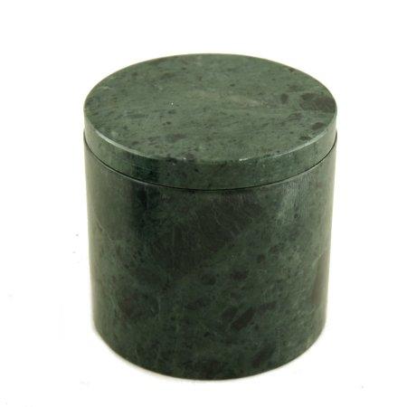 Krukke i gr�n marmor