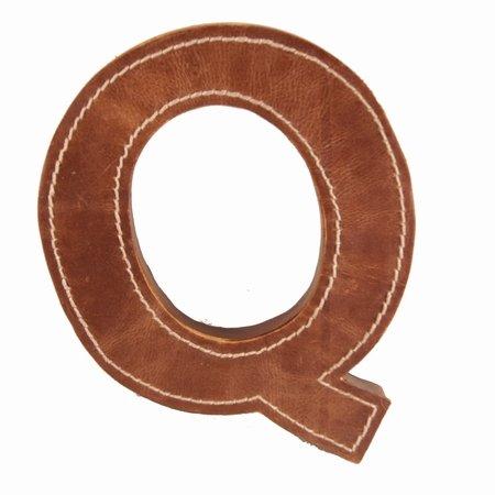 Læder bogstav - Q